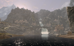 Skyrim Screenshot for wallpaper by Salmoonella