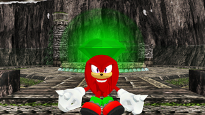 Knuckles the Echidna Guardian the Master Emerald by 9029561