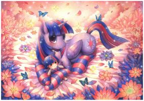 Commission : Twilight Sparkle by emperpep