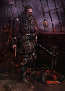 Blackbeard by muratgul