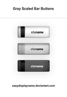 Gray Scaled Bar Buttons by easydisplayname