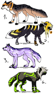 CLOSED - Canines Adoptables 359 by LeaAdoptables