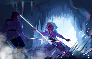 Disney Wars - It's going down by naima