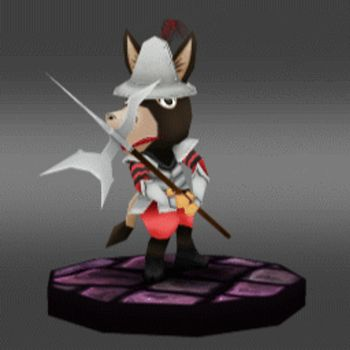 Baldwin the donkey - Turntable by sudro