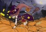 Happy Halloween! CANDY WITCH!! 0w0 by kelkeltang215
