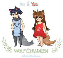 Wolf Children by ParadoxParade
