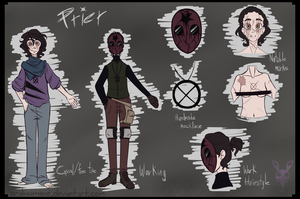 Prier BIO (FIXED Stuff) by A-Dreamare