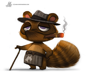 Day 798. Tom Crook by Cryptid-Creations