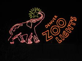 Denver Zoo Lights by shinigamisgem