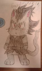 Gajeel exceed mark 2 by MEGARAINBOWDASH2000