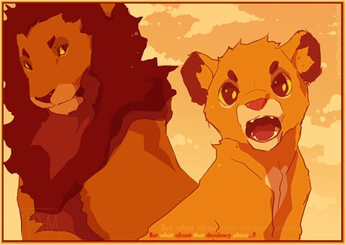 Return of the Lion King by TamberElla