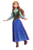 WIP - Anna Hair Down by wintrydrop