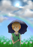 APH England: After the rain there is a rainbow by monochromevoicestory