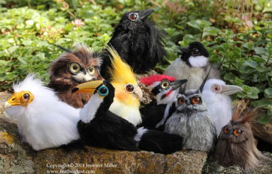 Bird Critters, July Batch by Nambroth