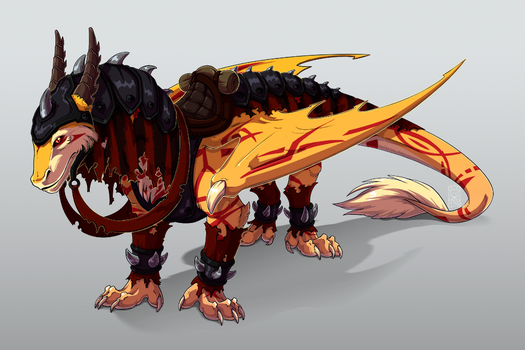 Epic mount by Firefex-wolf
