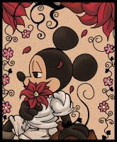 Mickey Mouse abstracto by Jacky-Bunny