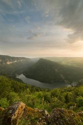 Above the Doubs by Bibwue