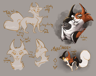 Character Design: Mapleshade by K0rdi4n