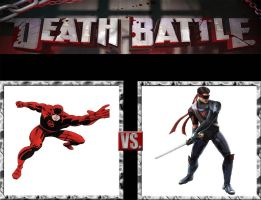Request #156 Daredevil vs Kenshi by LukeAlanBundesen