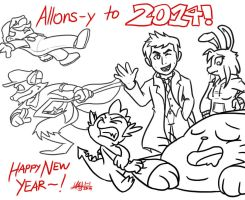 Allons-y to 2014 (LINES) by KunehoKun