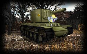 wallpaper: WOT/MLP crossover (screen 2) by crasydwarf