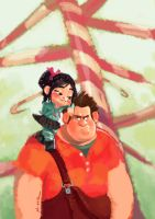 Wreck-it Ralph by h0an