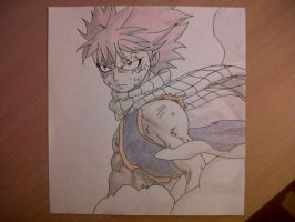 Natsu dragon force (New Version) by Lyza2000
