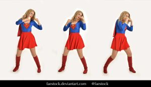 Supergirl  - Stock model reference pack 9 by faestock