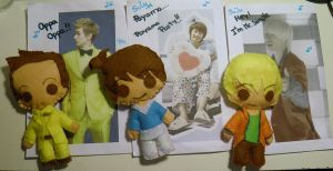Eunhyuk's felt dolls (Super Junior!) by Lucia-95RduS