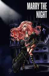 Marry The Night Poster by DibuMadHatter