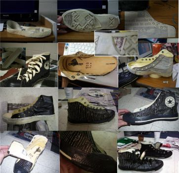 Converse progress shots by Amichi-the-Duelist