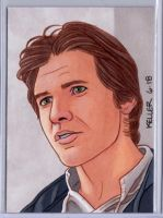 Han Solo ACEO by Rathskeller7