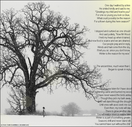 The Tree and I -visual- by ScarletRainxX