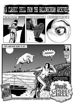 Terror Of The Sheep page 1 by MalcolmKirk