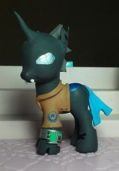 Fallout: Equestria Hivemind. Hero for AnubicDarque by SanadaOokmai