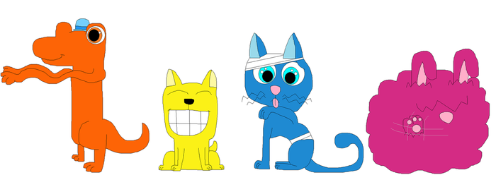 The Mr. Men as Animals part 1 by MrsMewGirl24