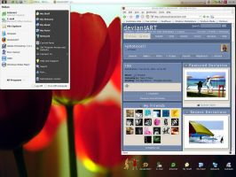 My Desktop by photocell