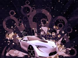 Toyota Concept by fiyah-gfx
