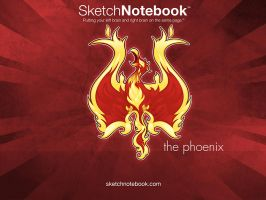 SKNB Desktop Phoenix by WarBrown