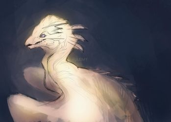 Sketching Dragons 01 - Painted by Fulemy