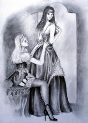 Maid and Mistress by Crimnor