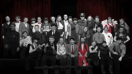 It's A Wonderful Life Stage Play Cast Photo by GoldenYak9753