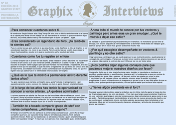Graphix Interviews #2 by Graphix-Team