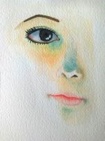 Practice with watercolors by Moctemma