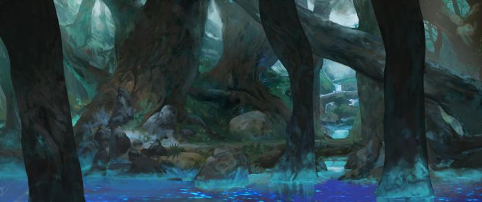 Animation background test 01 by Friis