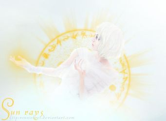 Sun rays by RonnieBret