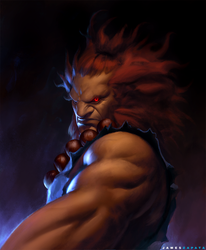 Akuma by jameszapata