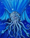 Cthulhu - Dead but Dreaming by Metzpah