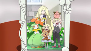 The Picture of Lillie and Her Family by WillDynamo55