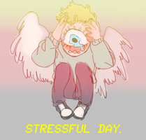 Stressful Day by Pukao
